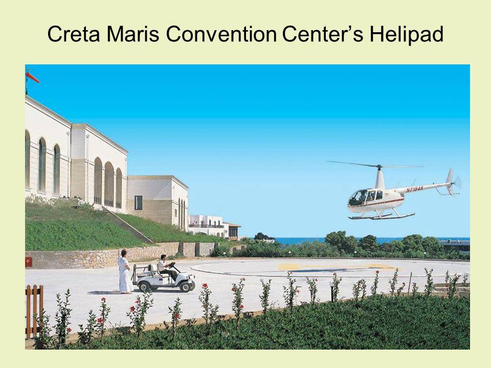 Creta Maris Convention Centers Helipad