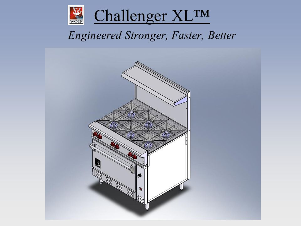 Challenger XL Stronger 14 Gauge Aluminized Steel Construction – Creates robust platform on which to build MIG Welded Chassis- Assures strength and consistency Fully Gusseted - Ensures rigidity