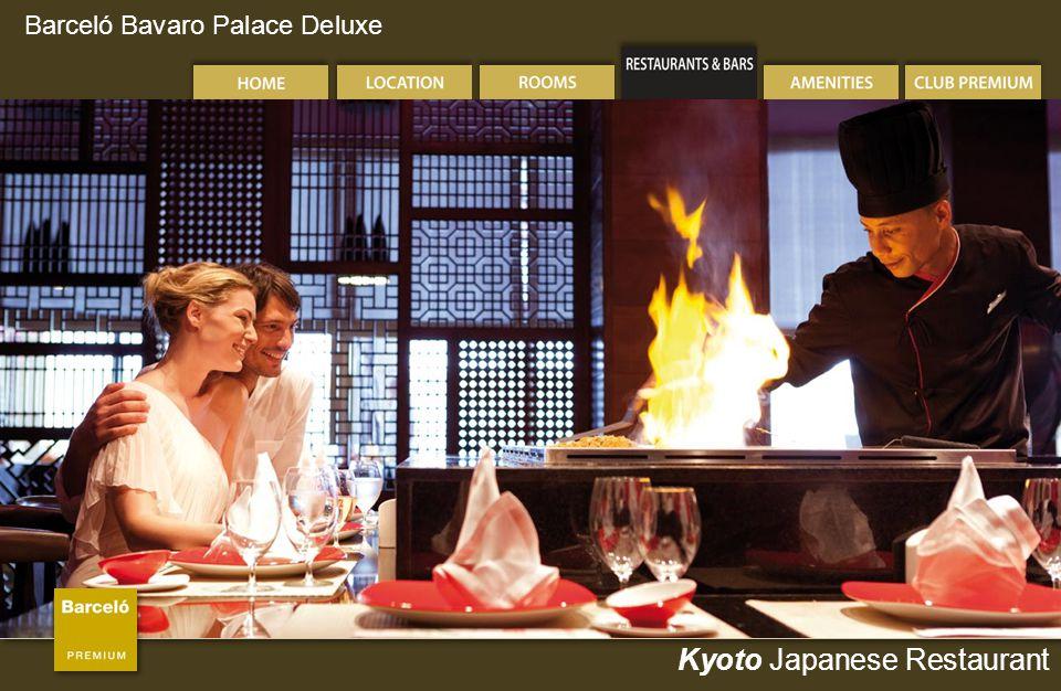 Barceló Bavaro Palace Deluxe Kyoto Japanese Restaurant