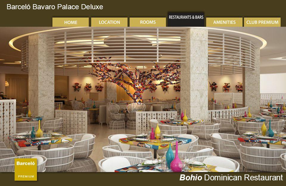Barceló Bavaro Palace Deluxe Bohio Dominican Restaurant