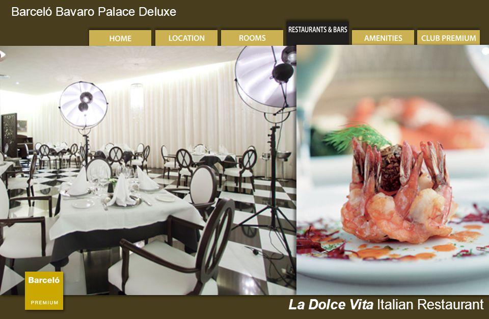 Barceló Bavaro Palace Deluxe La Dolce Vita Italian Restaurant