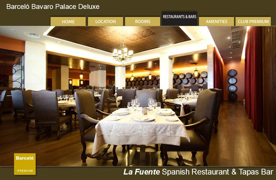 Barceló Bavaro Palace Deluxe La Fuente Spanish Restaurant & Tapas Bar