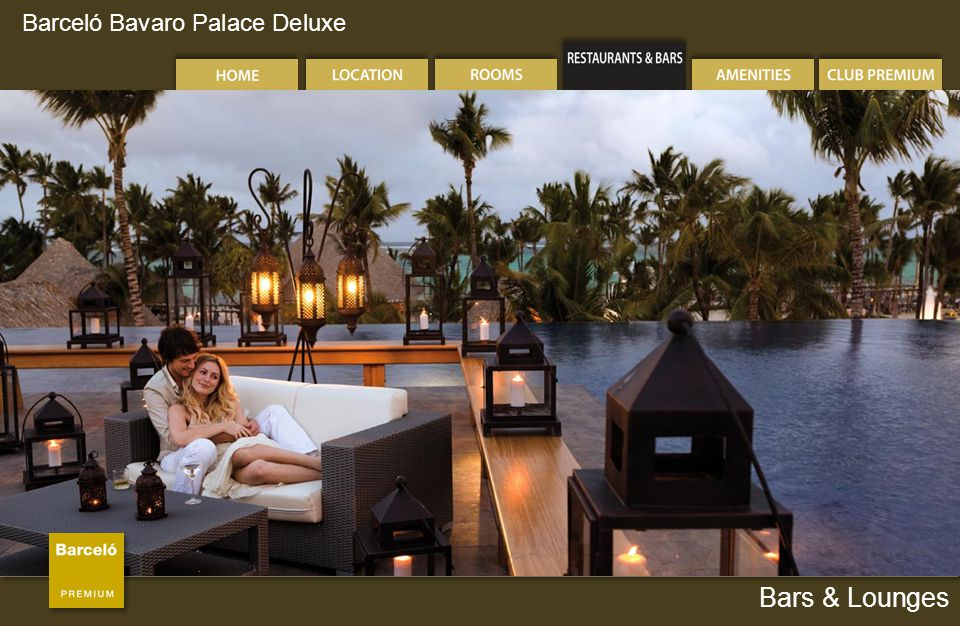 Barceló Bavaro Palace Deluxe Bars & Lounges