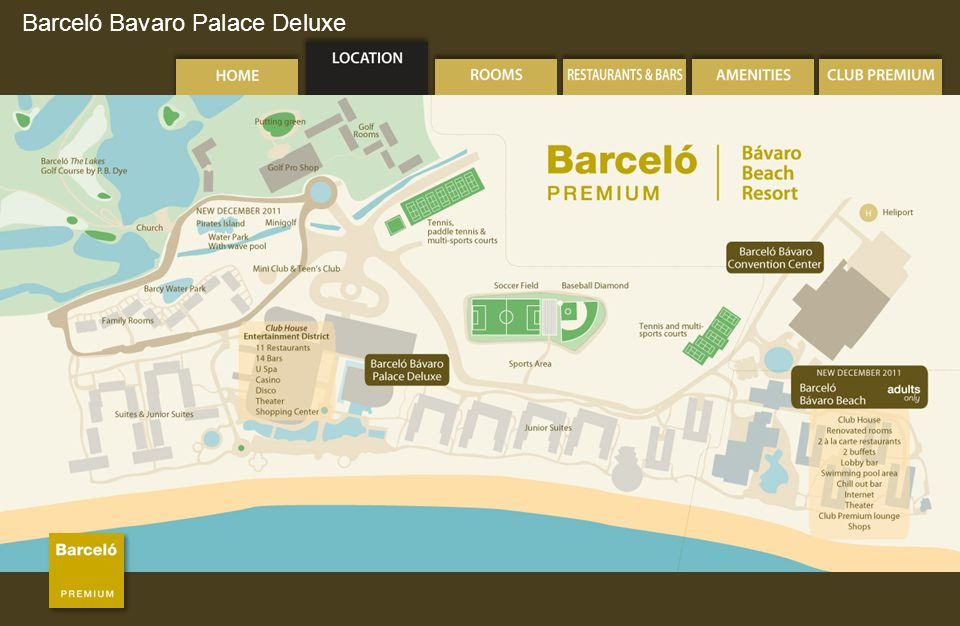 Barceló Bavaro Palace Deluxe Bars & Lounges Strikers Sports Bar (24-hour)