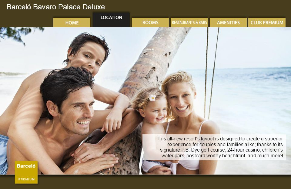 Barceló Bavaro Palace Deluxe Miramar International Buffet