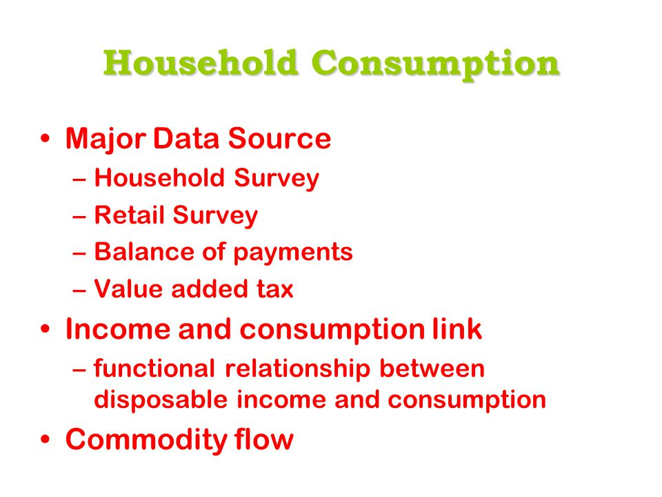 What snewinSupply and Use Table What s new in Supply and Use Table Independent estimates for change in stocks for 2004/05 New level for household consumption –Estimates for around 52 different good and services –Commodity flow approach –around 5% higher than published one.