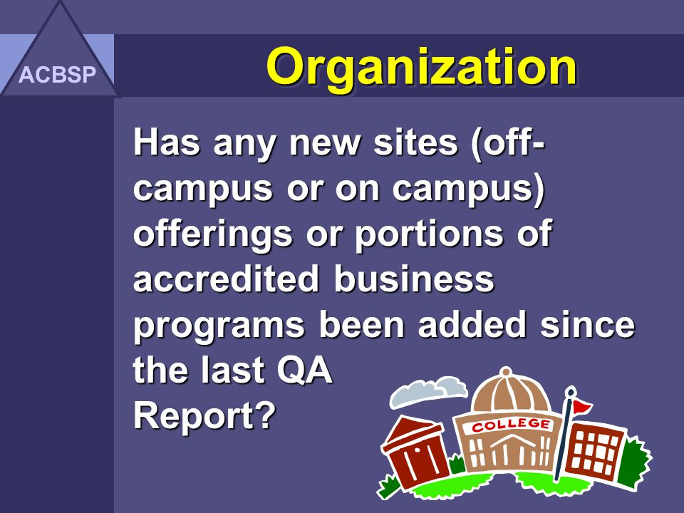 OrganizationOrganization Has the organizational structure or administrative personnel within the business unit changed.