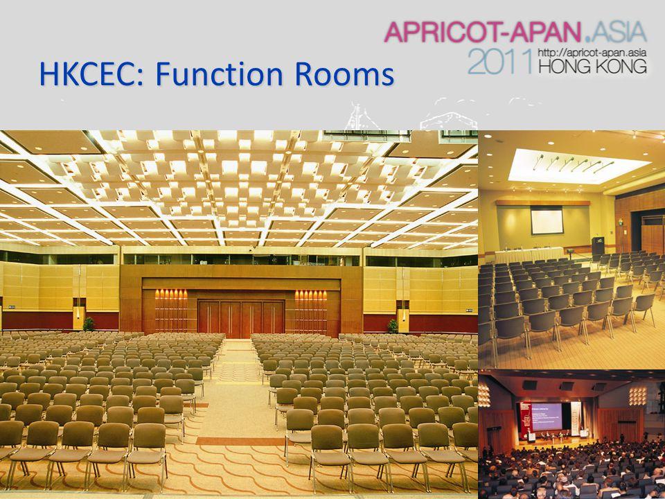 HKCEC: Function Rooms
