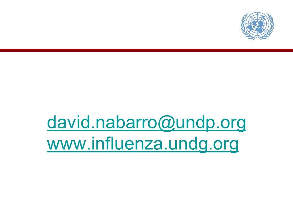 david.nabarro@undp.org www.influenza.undg.org