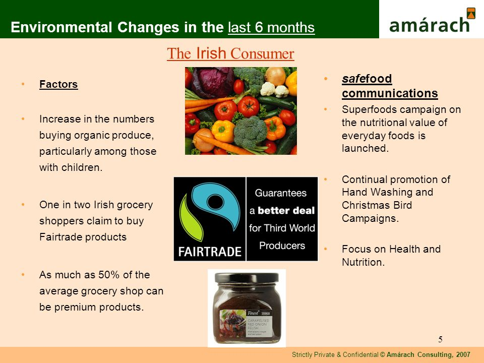Strictly Private & Confidential © Amárach Consulting, 2007 16 Awareness of TV Superfoods Base: All Respondents N= 814 ST6 ST 7 ST8 Measured against previous safefood campaigns