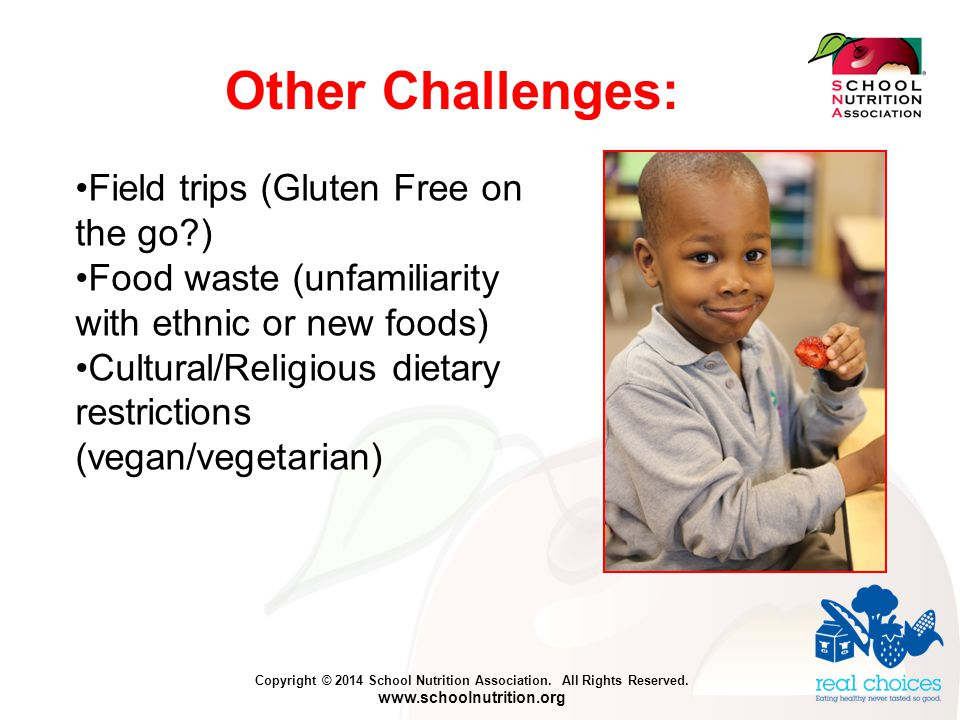 Copyright © 2014 School Nutrition Association. All Rights Reserved.