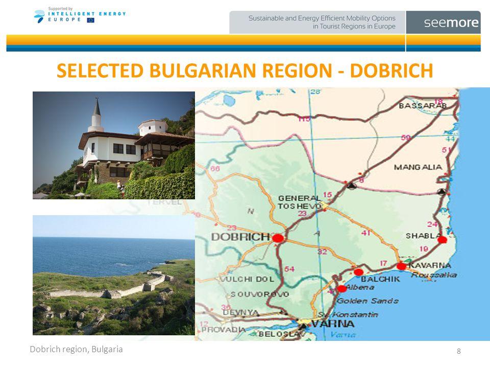 SELECTED BULGARIAN REGION - DOBRICH 8 Dobrich region, Bulgaria