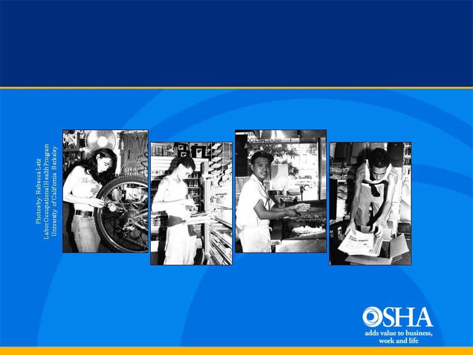 Teen injuries Teen work * Institute of Medicine, 1998 Teen Worker Injury Experience *