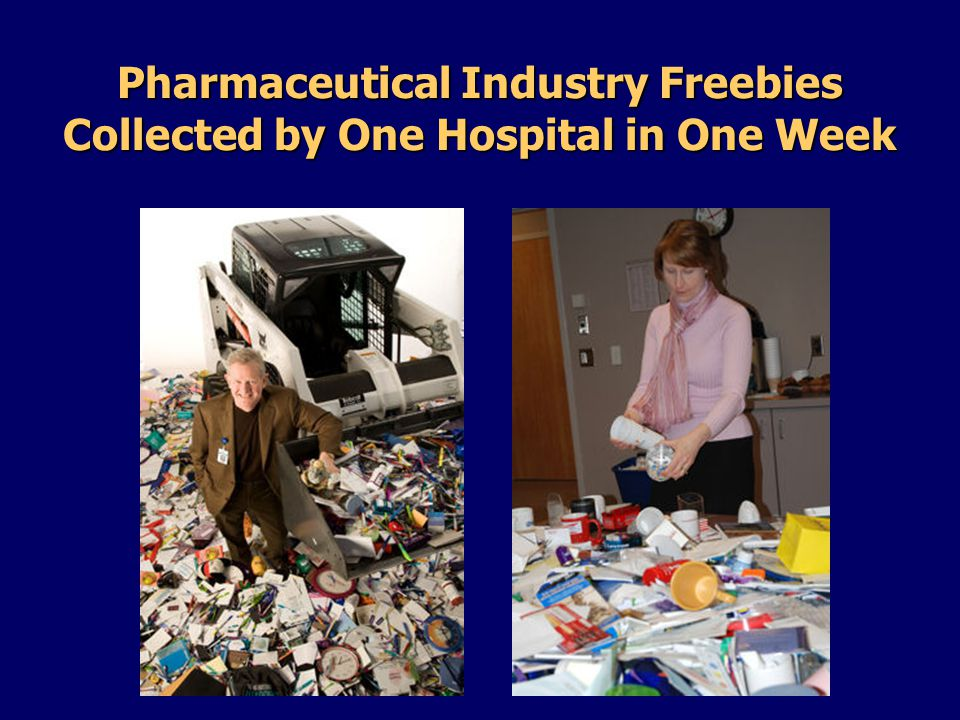 Pharmaceutical Industry Freebies Collected by One Hospital in One Week