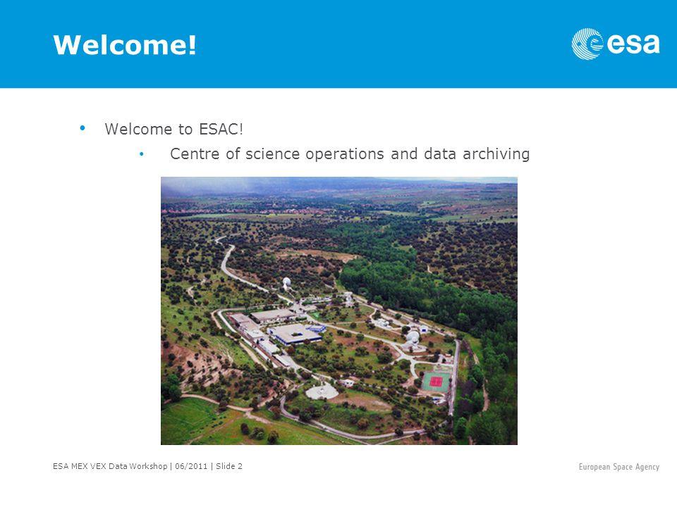 ESA MEX VEX Data Workshop   06/2011   Slide 13 Science Payload