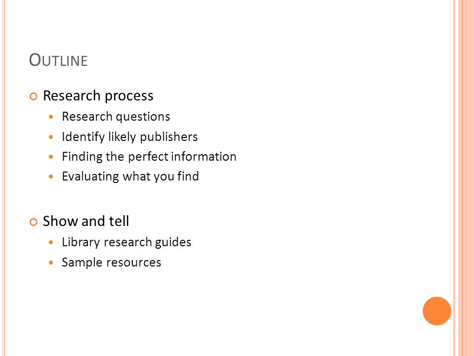 B RAINSTORMING R ESEARCH Q UESTIONS Before starting to research your topic, decide what you need to know.