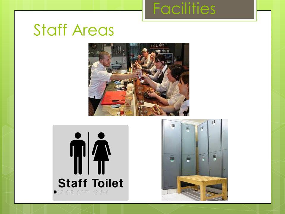 Facilities Staff Areas