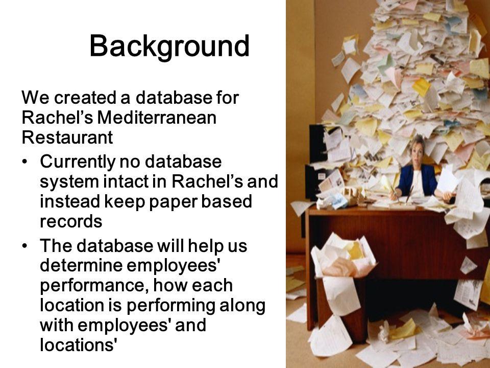 Agenda Background Business Expert Problem Business Values Database Design User Interface Design Demonstration Conclusion