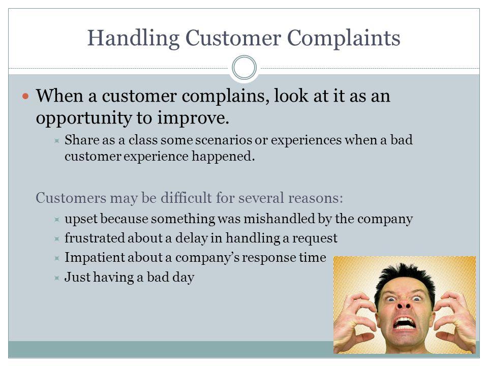 Listen to customers Customer want communication.