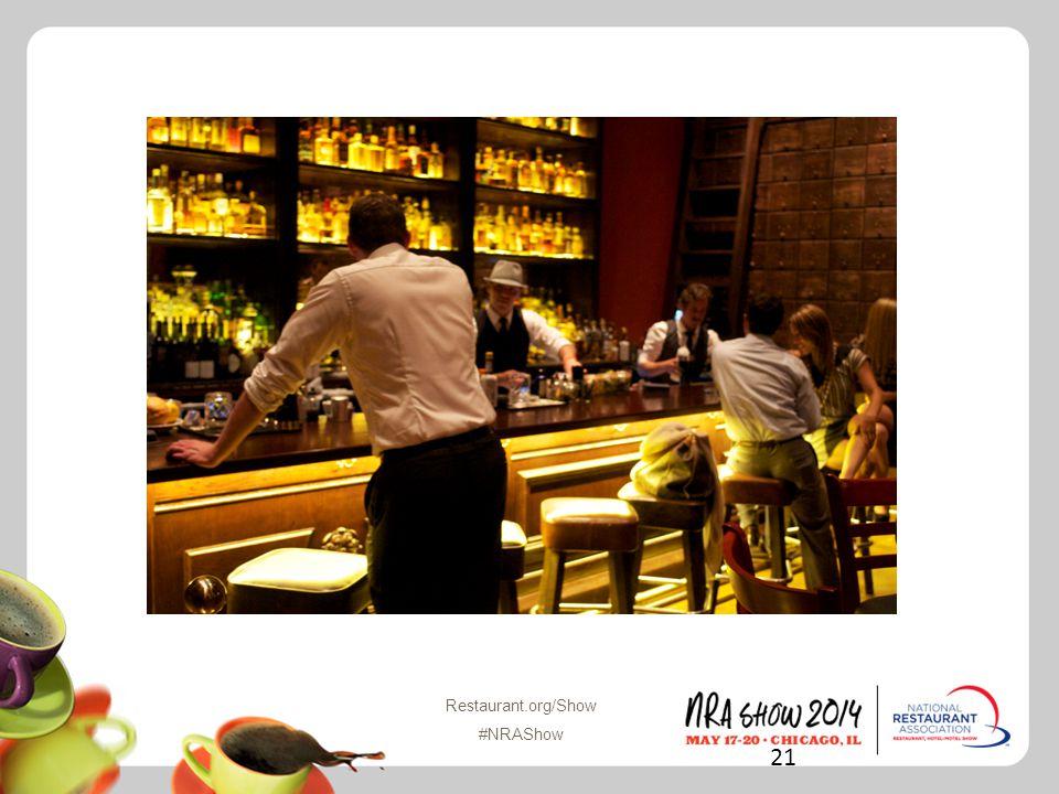 Restaurant.org/Show #NRAShow 21