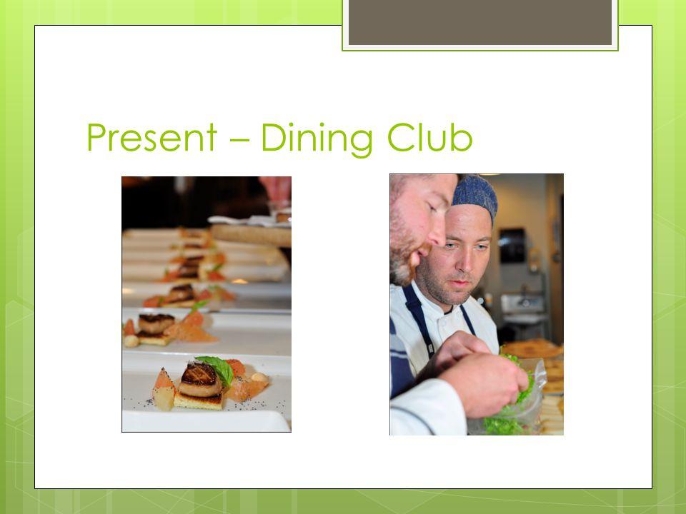 Present – Dining Club