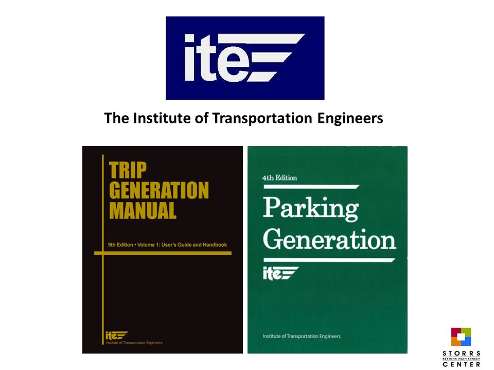 The Institute of Transportation Engineers