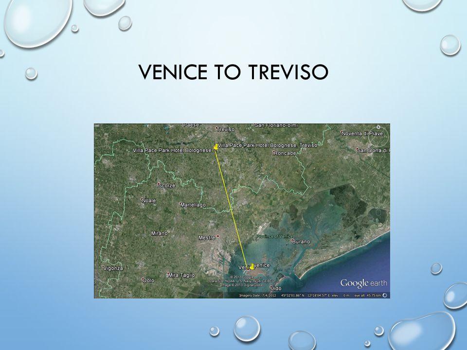 VENICE TO TREVISO