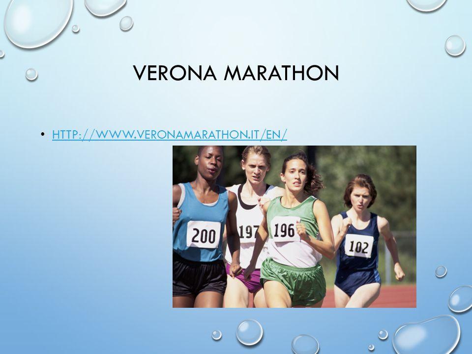 VERONA MARATHON HTTP://WWW.VERONAMARATHON.IT/EN/