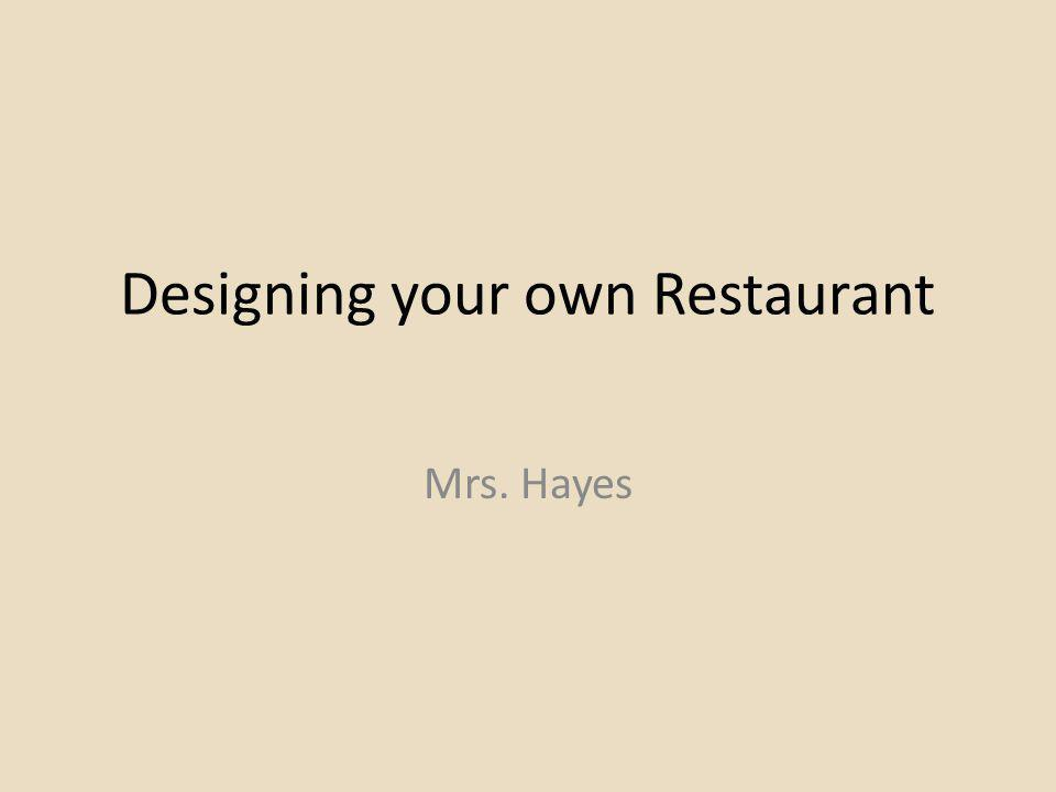 Addition Considerations Layout of your restaurant The employees you hire The food you serve Liquor licensing Take-out Delivery Catering services