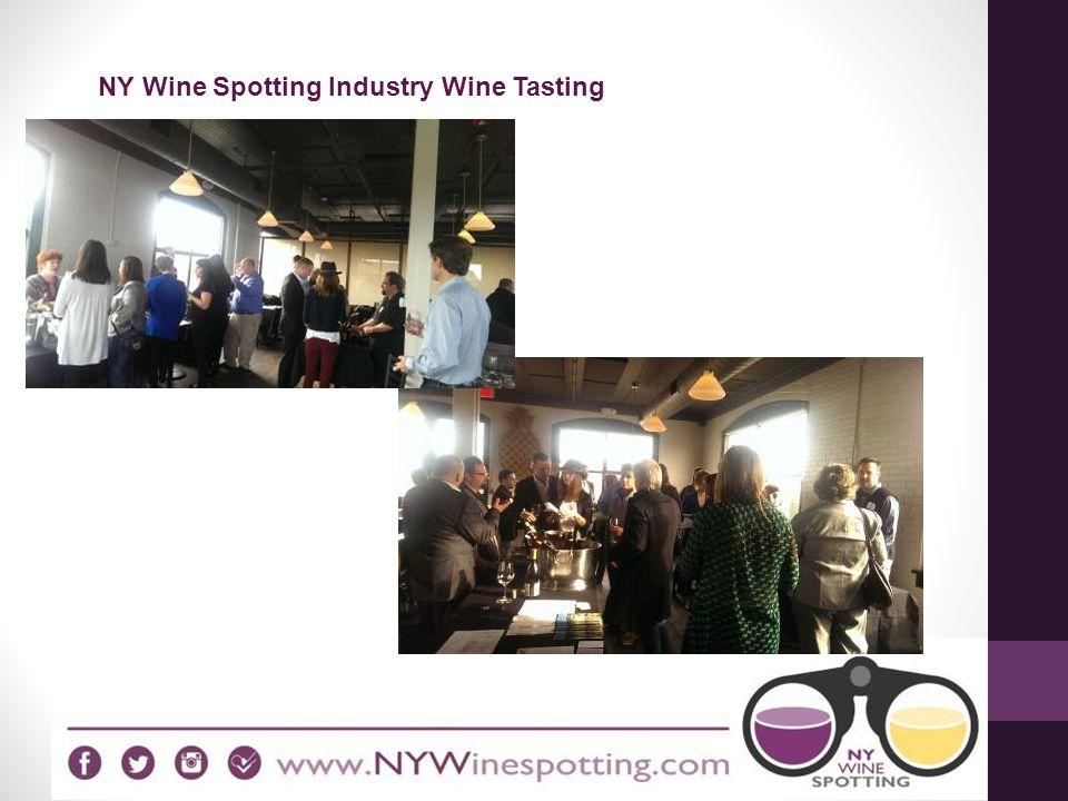 NY Wine Spotting Industry Wine Tasting