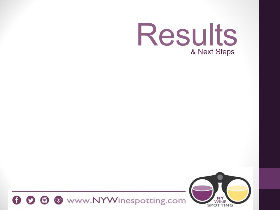 Results & Next Steps