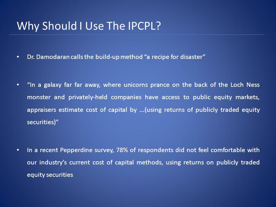 Why Should I Use The IPCPL.Gesoff v.