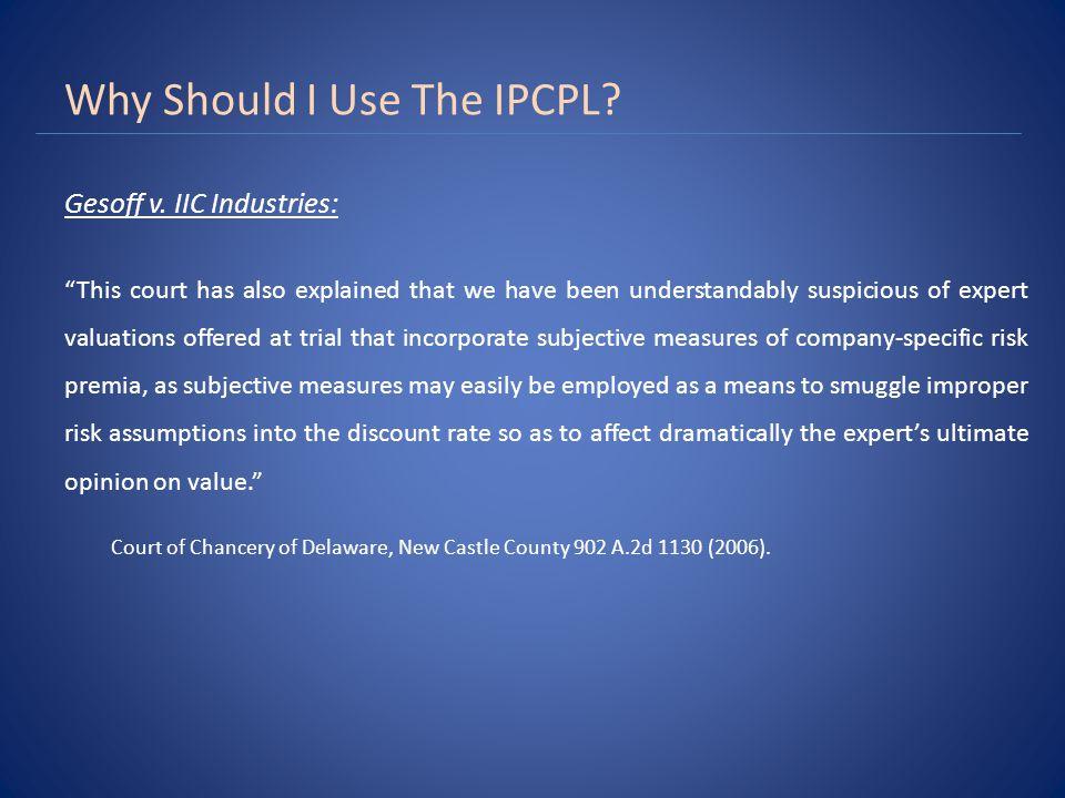 IPCPL Point
