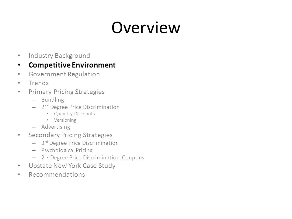 Product and Price Differentiation http://www.youtube.com/watch?v=NV8anwJ b3R8 http://www.youtube.com/watch?v=NV8anwJ b3R8 More effective?