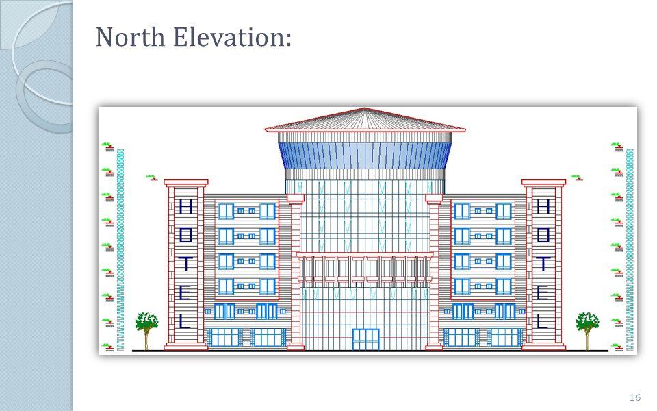 North Elevation: 16