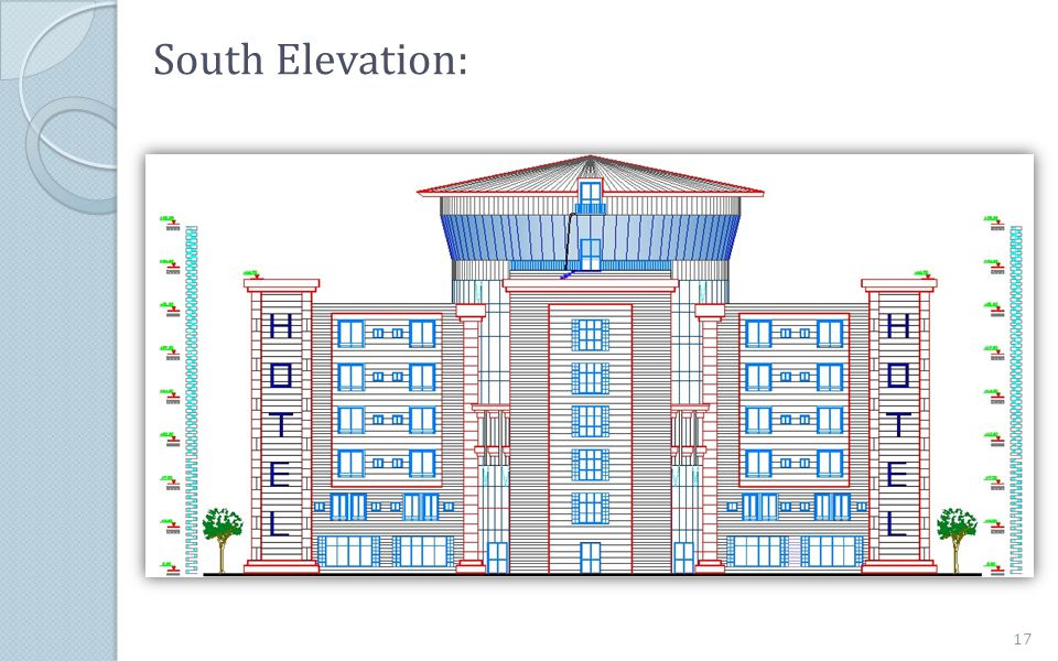 South Elevation: 17