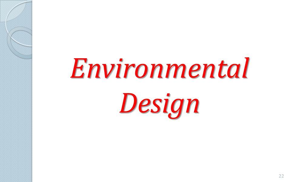 Environmental Design 22