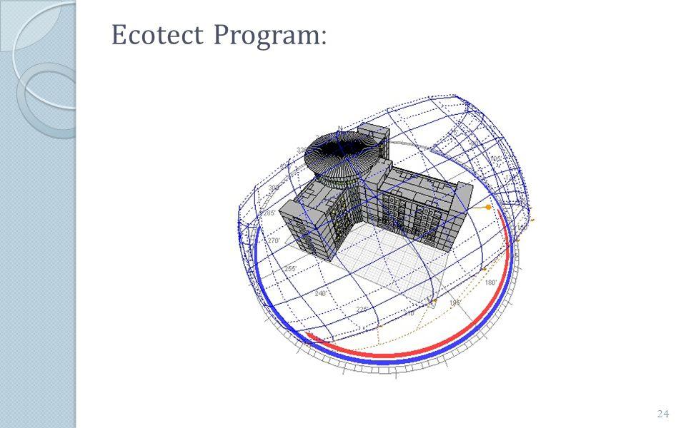 :Ecotect Program 24