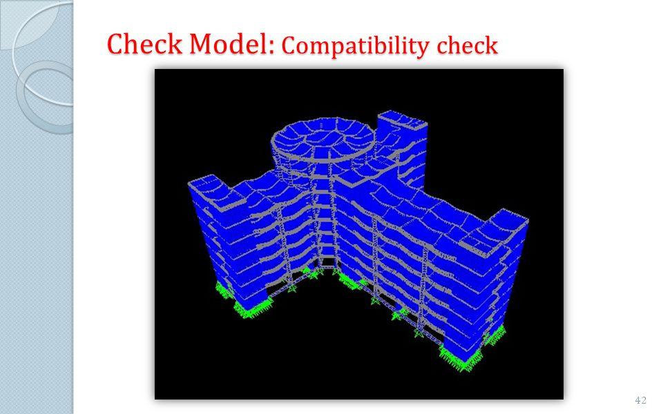 Check Model: Compatibility check 42