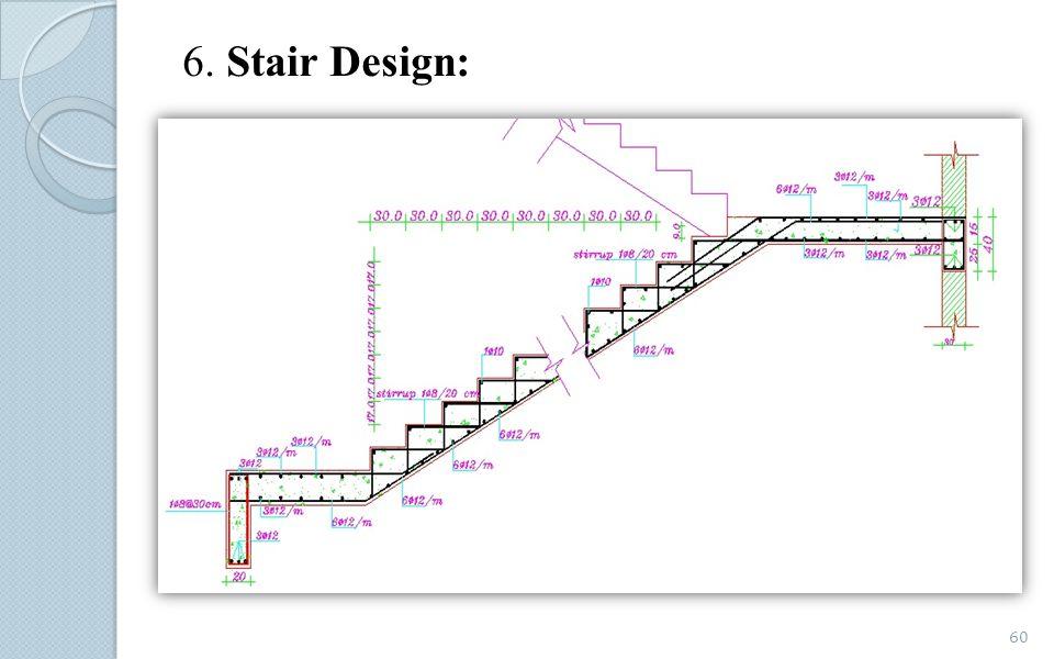 6. Stair Design: 60
