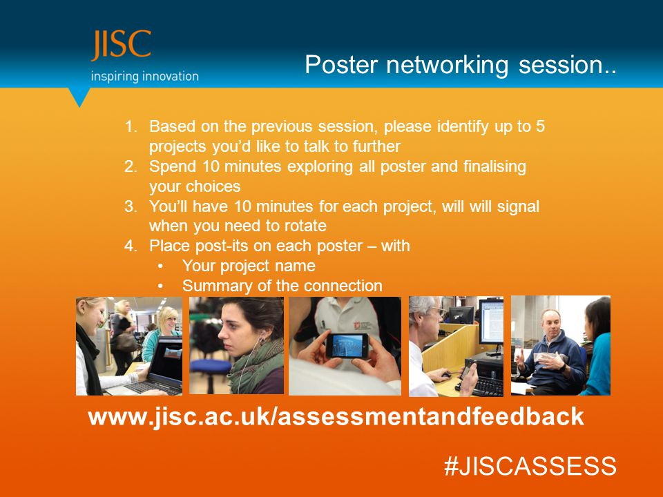 Poster networking session..