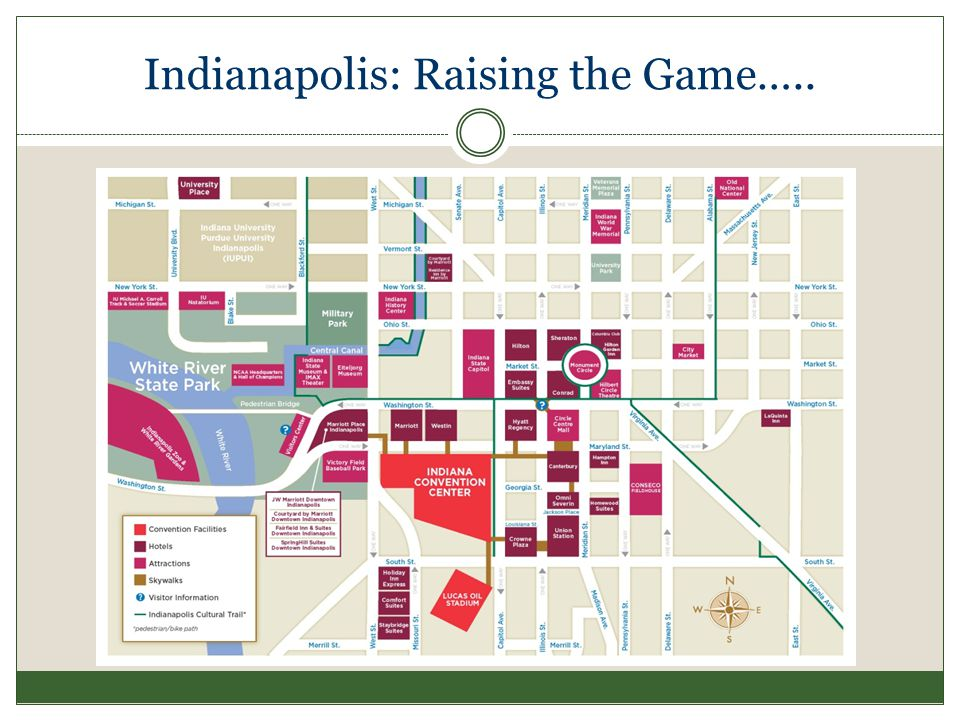 Indiana Convention Center As shown in this table, exhibition space in the Convention Center will expand by +/- 254,000 square feet.