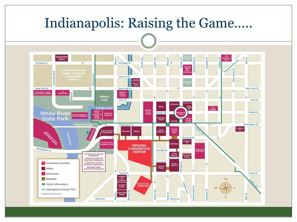 Indianapolis: Raising the Game…..