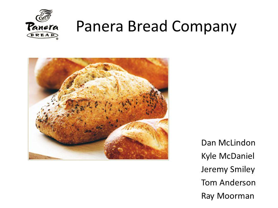 Panera Bread Company Dan McLindon Kyle McDaniel Jeremy Smiley Tom Anderson Ray Moorman