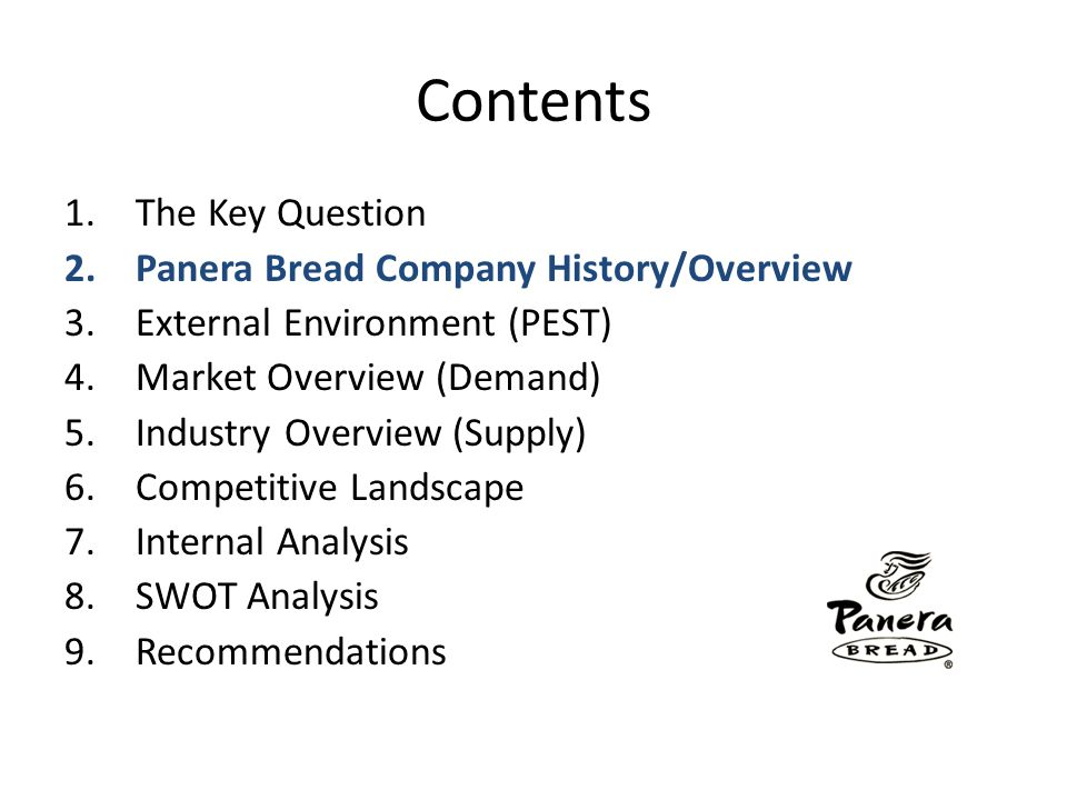 Panera Bread Company Overview Origin1981 Au Bon Pain Company founded by Louis Kane and Ron Shaich.