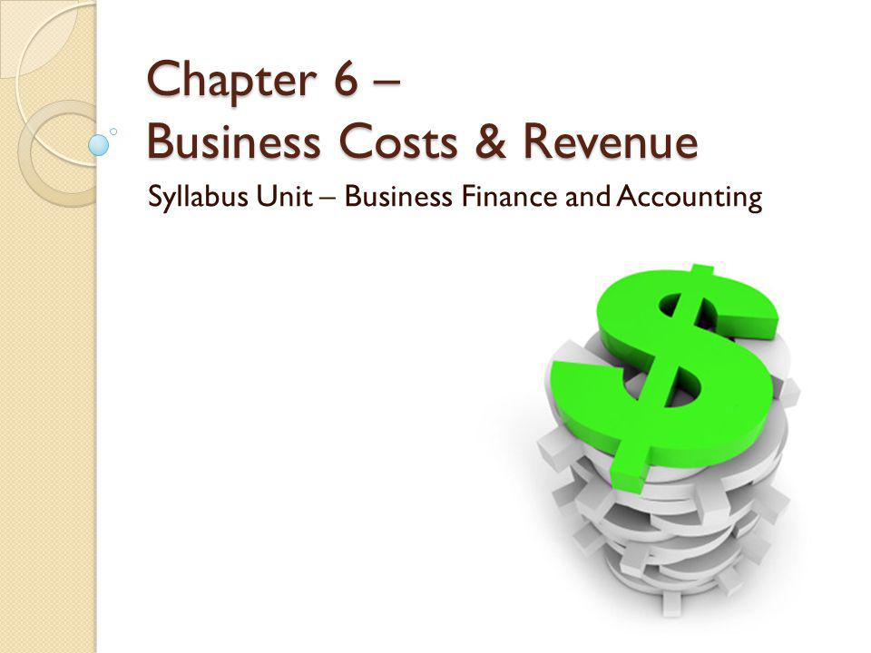 You will learn …… Why businesses need to know the costs of running their activities and the revenue gained by selling their products The different types of costs involved in running a business How break-even analysis helps managers make decisions The purpose of budgets and financial forecasts