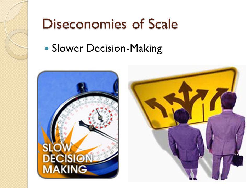 Slower Decision-Making