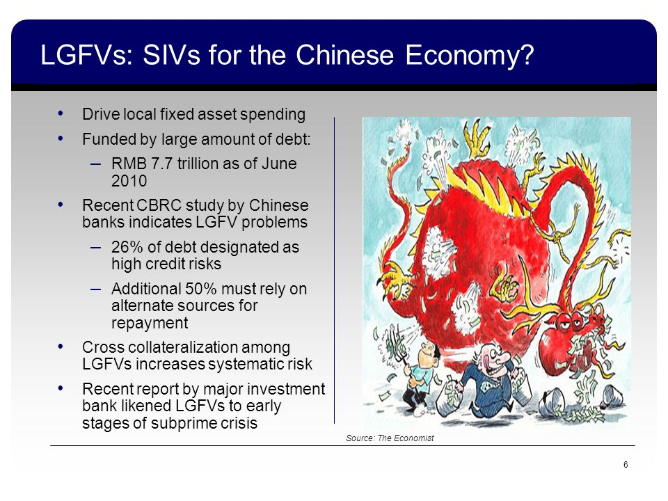 LGFVs: SIVs for the Chinese Economy.