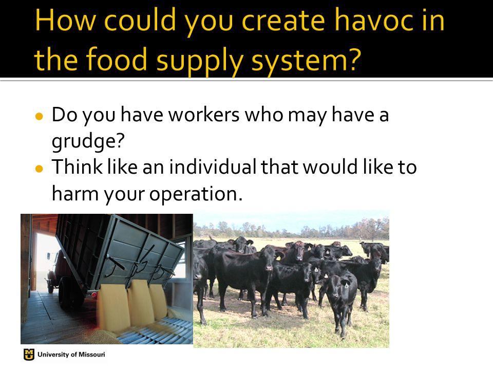 Develop a Food Defense Plan Determine Vulnerability Develop Countermeasures Write a Defense Plan Prepare a Response Plan