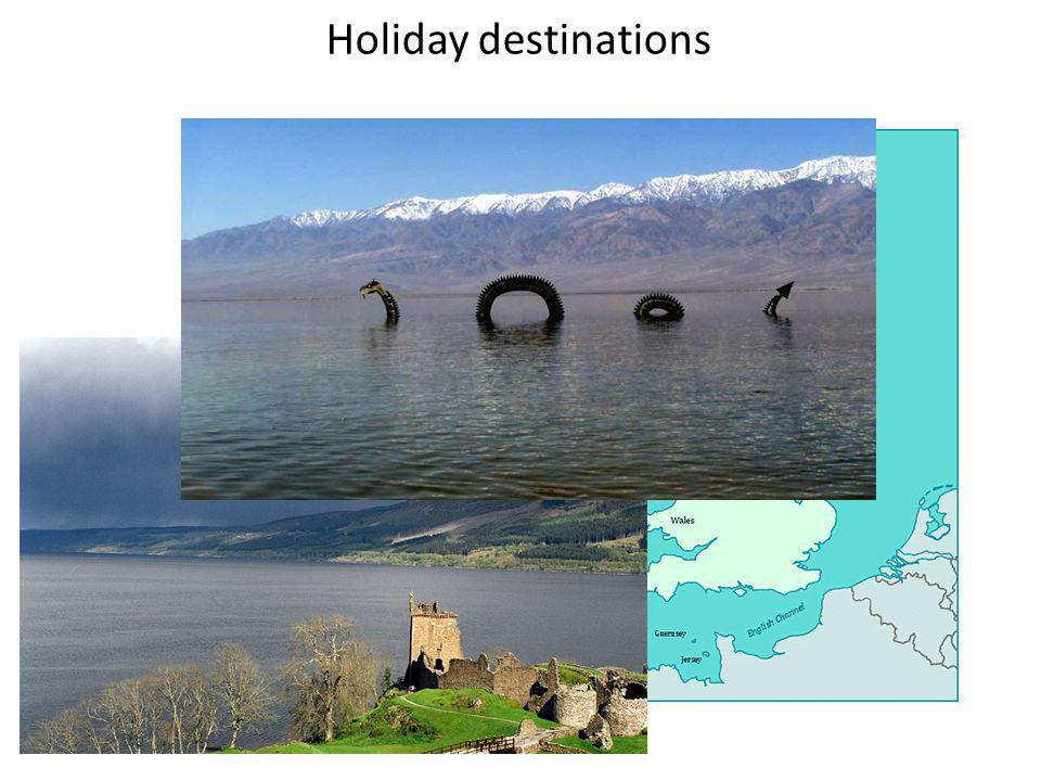 Holiday destinations Scotland